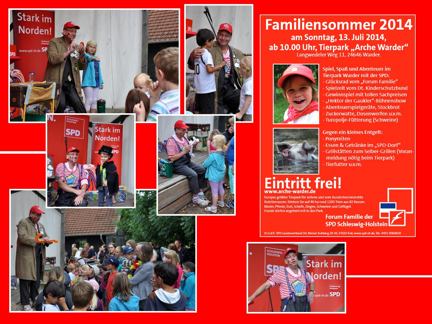 SPD-Familiensommer!