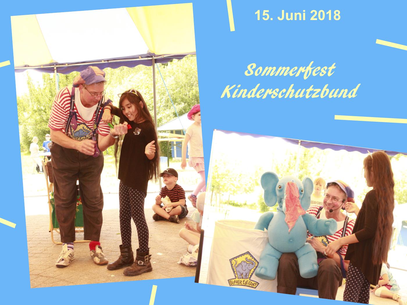 15.06.18 - Sommerfest des Kinderschutzbundes