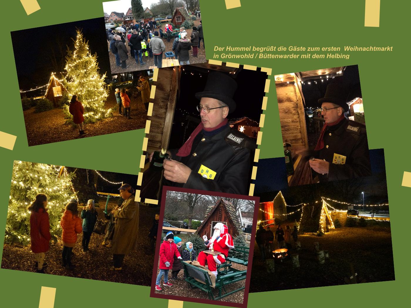 Weihnachtsmarkt in Grönwohld