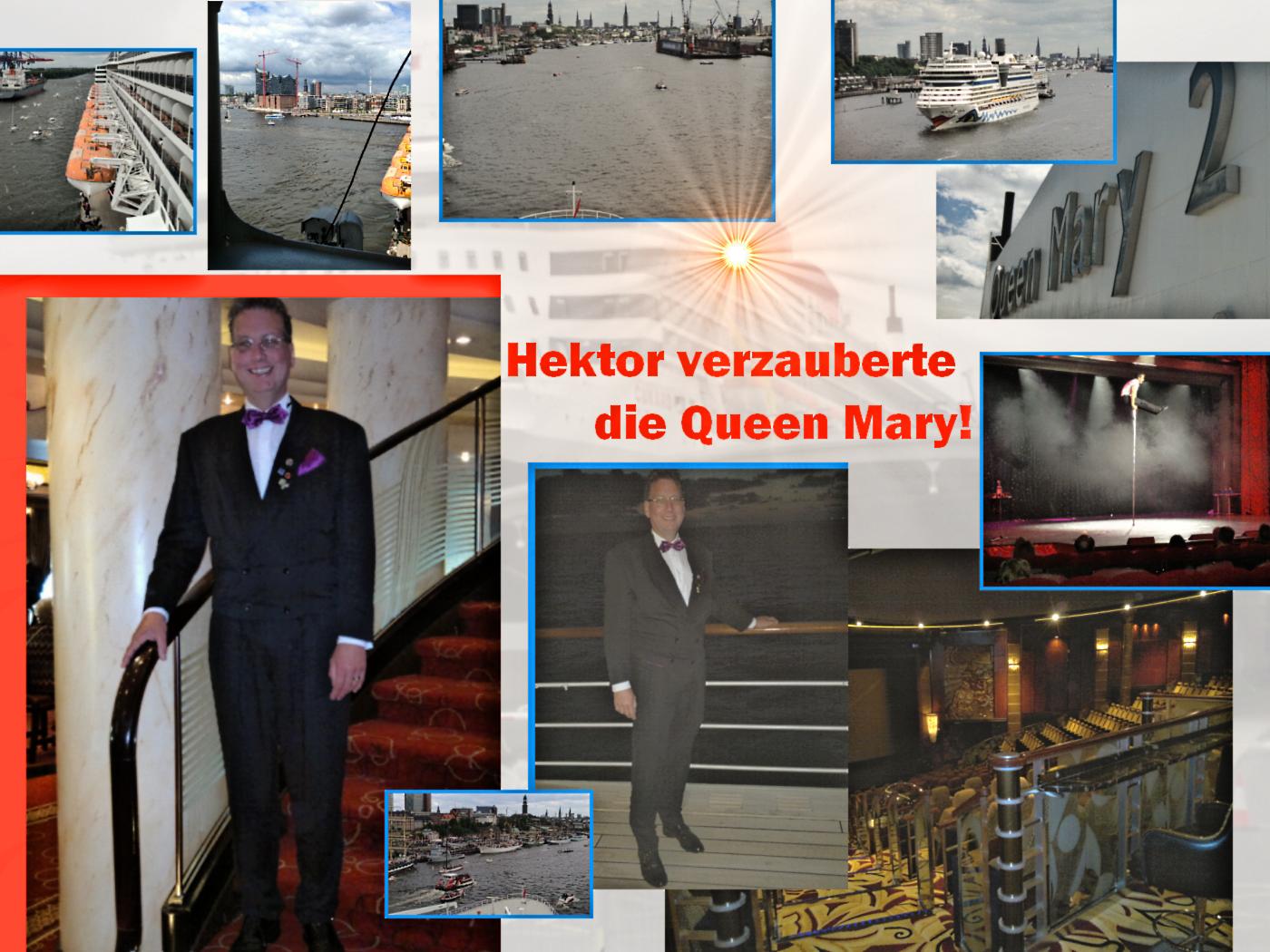 Hektor auf der Queen Mary 2