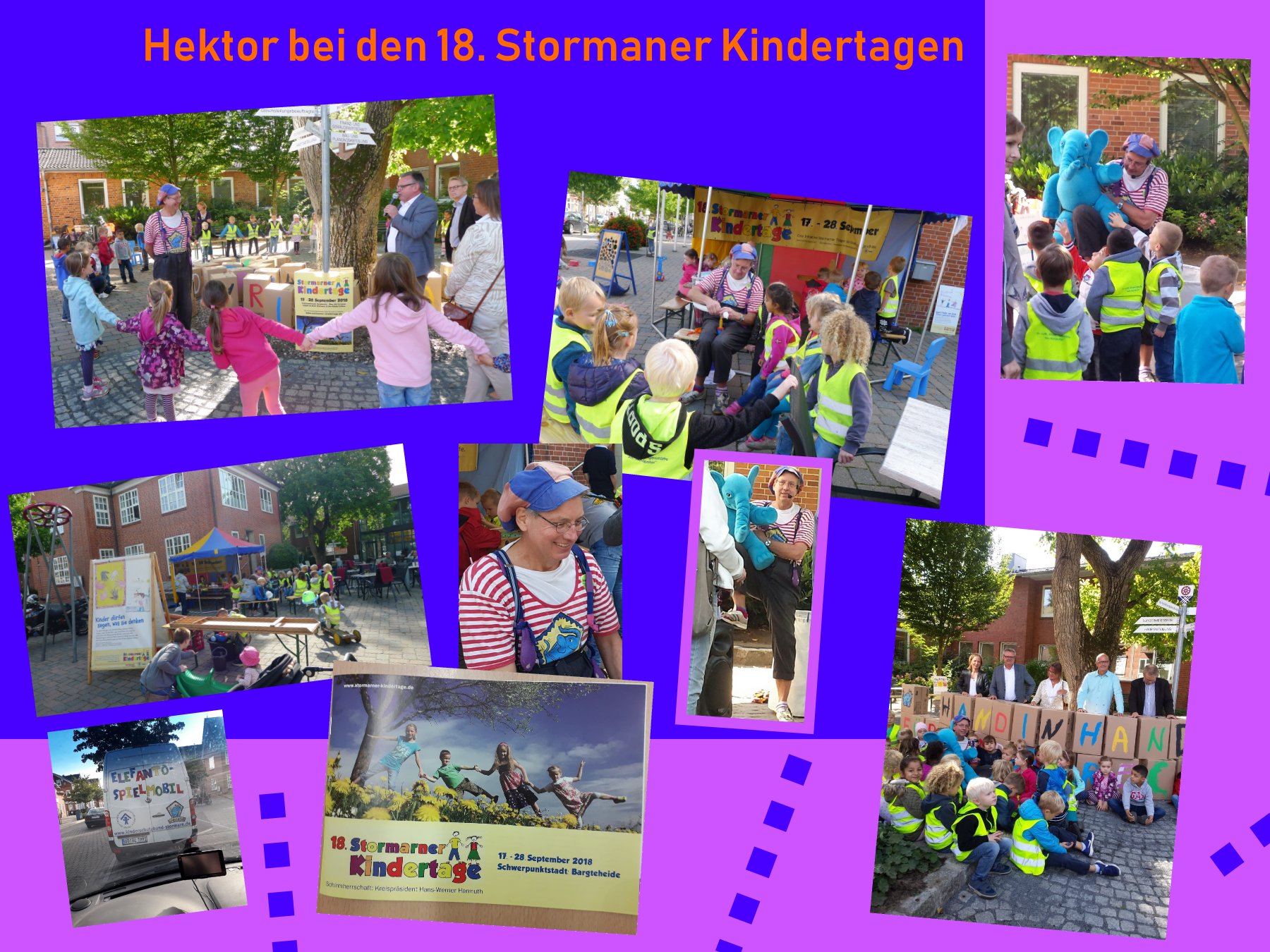Hektor bei den Stormaner Kindertagen